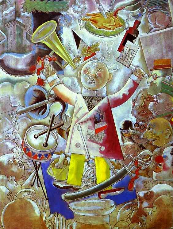 Ο Δημαγωγός . έργο του Γκέοργκ Γκρός του 1928 (2)