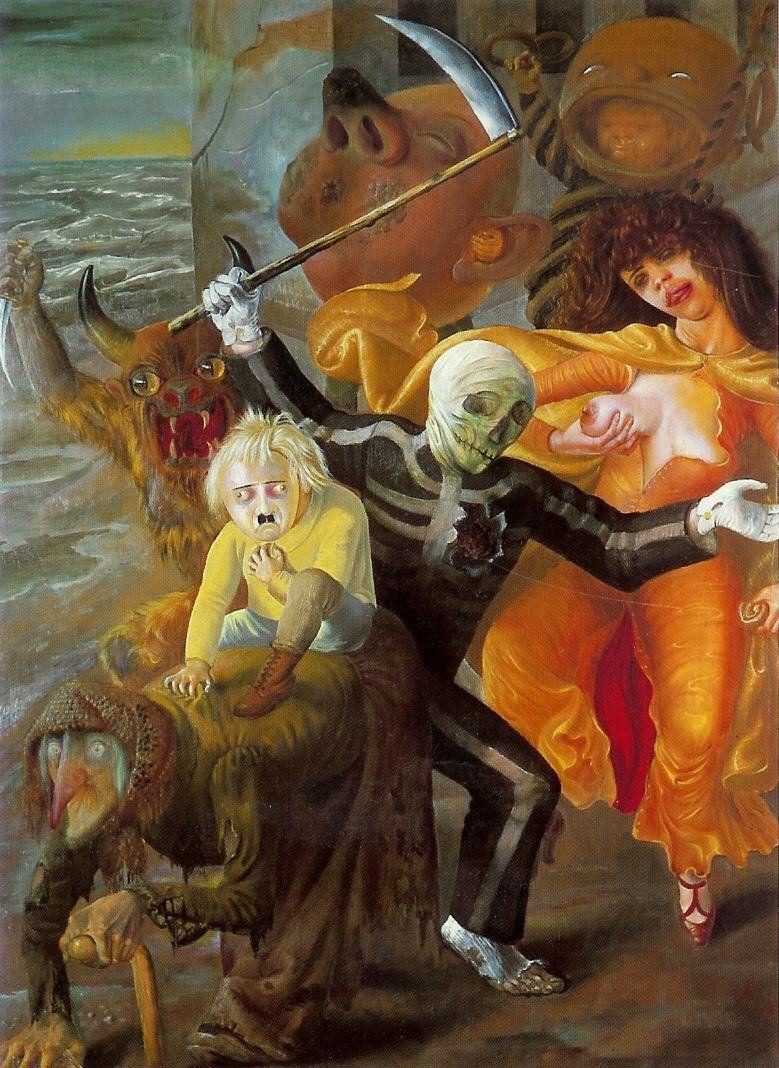 Otto Dix_The Seven Deadly Sins_1933