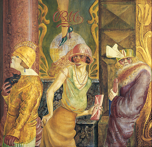 Otto Dix , Three Prostitutes in the Street . 1925