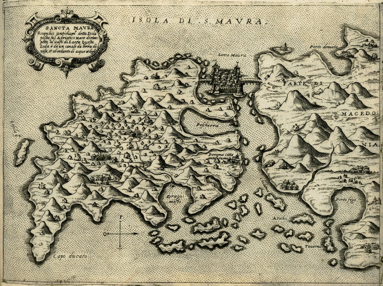 χαρτης Λευκαδας