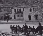 Καρυά-Λευκάδος-πλατεία-1958-001