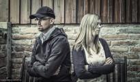 Ehepaar im Streit
