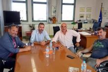 2019.10.16 @ Ανδρέας Κτενάς: «Η Περιφέρεια στηρίζει τον αθλητισμό, τον πολιτισμό και την νεολαία» - Συνάντηση του Αντιπεριφερειάρχη Λευκάδας με αντιπροσωπεία του Τηλυκράτη #ΠΙΝ #Λευκάδα #Αθλητισμός #Πολιτισμός