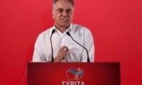 Ο υπουργός Εσωτερικών Παναγιώτης Σκουρλέτης μιλάει κατά τη διάρκεια της Συνεδρίασης της Κεντρικής Επιτροπής του ΣΥΡΙΖΑ, με θέμα: Ο ΣΥΡΙΖΑ στη νέα εποχή μετά τα μνημόνια, Δευτέρα 27 Αυγούστου 2018. Ο πρωθυπουργός Αλέξης Τσίπρας πρότεινε στην ΚΕ να εκλέξει ως επόμενο Γραμματέα τον Παναγιώτη Σκουρλέτη. ΑΠΕ-ΜΠΕ /ΑΠΕ-ΜΠΕ/ΟΡΕΣΤΗΣ ΠΑΝΑΓΙΩΤΟΥ