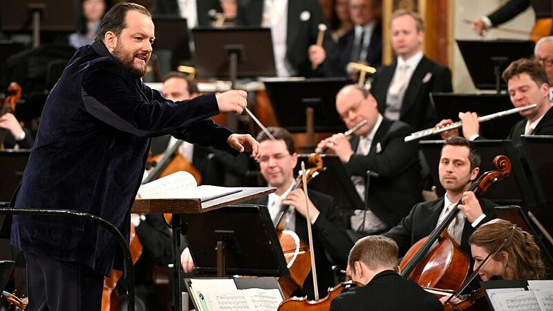 Dirigent Andris Nelsons und die Wiener Philharmoniker