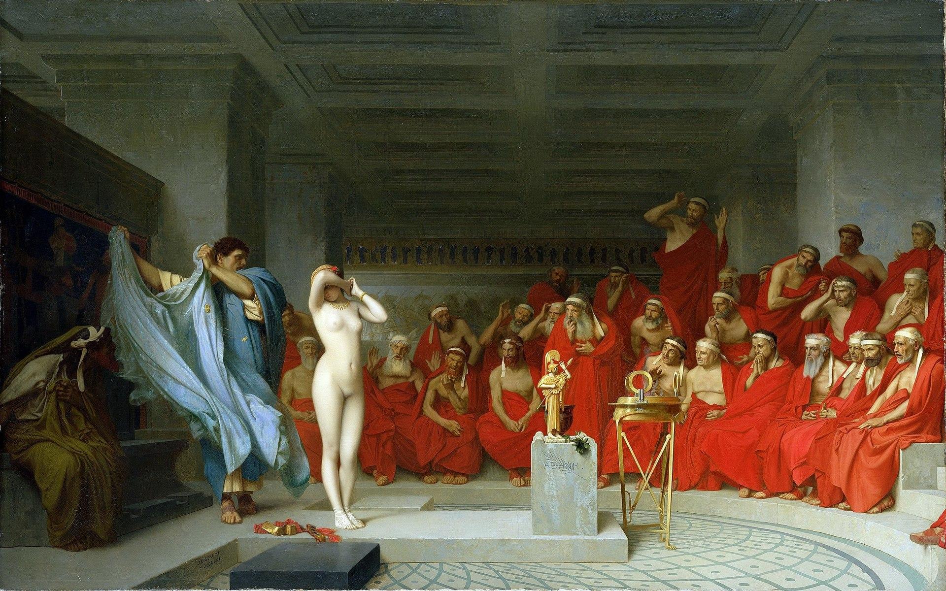 1920px-Jean-Léon_Gérôme,_Phryne_revealed_before_the_Areopagus_(1861)_-_01