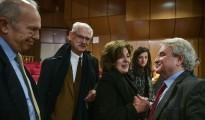 Στη φωτογραφία διακρίνεται ο Λευκαδίτης δικηγόρος Άγγελος Βρεττός, ο Άγγελος Βρεττός, ένας εκ των συνηγόρων της Πολιτικής Αγωγής για τη δολοφονική επίθεση στους κομμουνιστές και συνδικαλιστές του ΠΑΜΕ στο Πέραμα (Πηγή: Eurokinissi)