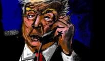 Donald Trump, Mike Pompeo, Jared Kushner, Robert O'Brien, Steven Mnuchin