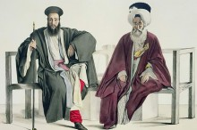 Louis_Dupr_-_A_Greek_Priest_and_a_Turk_engraved_by_the_Thierry_Brothers_1825_-_(MeisterDrucke-322174)
