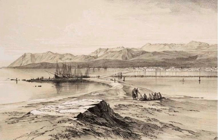 Αποψη-απο-το-κάστρο-Edward-Dodwell