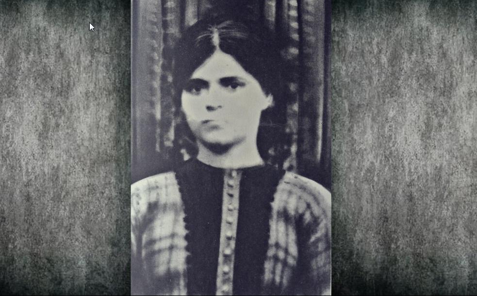 ΛΟΥΚΙΑ ΘΕΡΜΟΥ 1934 (Φωτογραφία από το αρχείο της οικογένειας Ευσταθίου Κ. Θερμού)