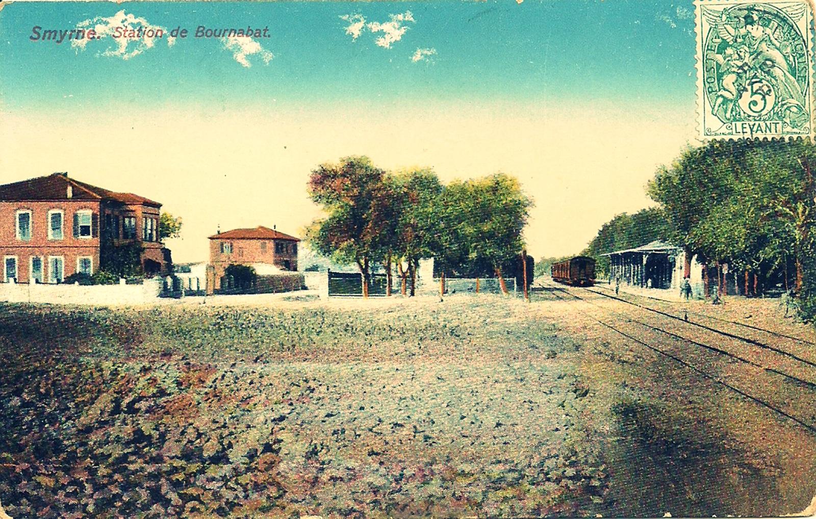 Σιδηροδρομικός_Σταθμός_Μπουρνόβα_1880